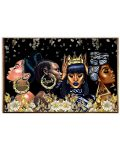 Black woman dope queen Melanin poster