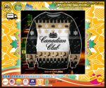 Canadian club knitting pattern 3d print ugly sweater