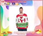 Classic Grateful Dead Dancing Bears Ugly Christmas Sweater