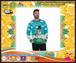 Frosty the Blowman Snowman Ugly Christmas Sweater 3