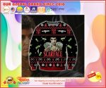 Scarface ugly christmas sweater