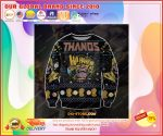 Thanos 3d print knitting pattern ugly christmas sweater