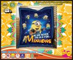 We are never too old for minions blanket 4