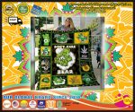 Weed Bear dont care quilt