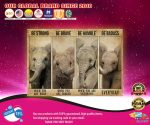 Poster Elephant be strong be brave badass humble poster2