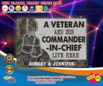 A veteran and his commander in chief live here custom personalized name doormat4