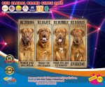 Dogue be strong be brave be humble be badass poster4