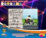 I want to hold you hand and say baby let's go riding custom name poster4