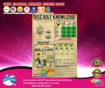 Poster Disc golf knowledge2