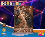 Some girls are just born with flamenco in their souls poster4