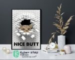 Cat nice butt 3d wall poster9