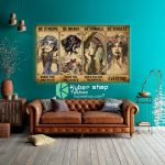 Hippie girl be strong be brave be humble be badass poster8