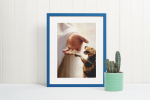 Jesus God Airedale Terrier take my hand canvas poster7