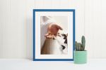Jesus God Rat Terrier take my hand canvas poster7
