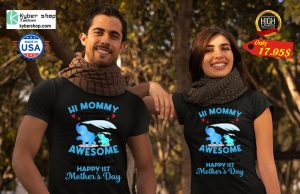 Hi mommy Grandma told me that you are awesome Shirt